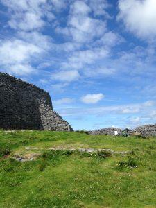 Dun Aonghasa rain fort -3,000 years of ruins!