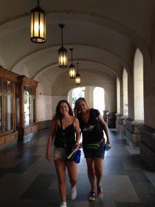 Ma & Delaney make it to Budapest!