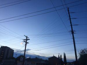 Dusk in El Paso